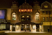Hackney Empire at night time. - Geoff Crawford - 06-02-2008