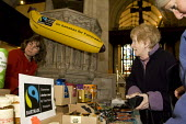 Buying fairtrade goods at St Mary the Virgin church, in Ashford, Kent - Geoff Crawford - 09-02-2008