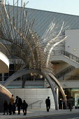Angel Wings, a sculpture at the N1 shopping centre, Angel Islington, London - Geoff Crawford - 2000s,2003,ACE arts culture,Angel,art,artwork,artworks,bought,Buttress,buy,buyer,buyers,buying,cities,city,commodities,commodity,consumer,consumers,customer,customers,Fine Art,goods,Islington,Letts,Lo