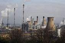 INEOS plant at Grangemouth. - Gerry McCann - 27-04-2008