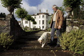 Sir Charles Maclean at his home in Strachur, Argyll, Scotland. Sir Charles is the author of books such as The Wolf Children and The Silence. He is the son of Sir Fitzroy Maclean, founder, with David S... - Gerry McCann - 04-09-2006