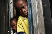 Deaths from AIDS-related illnesses mean that many children are orphaned. These children live in a church and are looked after by the pastor, some of the children are also HIV-positive. St.Lucia, South... - Gerry McCann - 03-05-2005