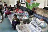 The Children's Section cares for children who have been abandoned or orphaned due to HIV/AIDS, at St. Francis Care Centre in Boksburg, South Africa. - Gerry McCann - (H,/,2000s,2005,abandoned,Acquired,Acquired immune,AIDS,asleep,babies,baby,boy,boys,care,carer,carers,centre,centres,child,childcare,CHILDHOOD,CHILDMINDING,children,children's,clinic,clinics,deficienc