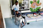 The Children's Section cares for children who have been abandoned or orphaned due to HIV/AIDS, at St. Francis Care Centre in Boksburg, South Africa. - Gerry McCann - (H,/,2000s,2005,abandoned,Acquired,Acquired immune,AIDS,bound,boy,boys,care,carer,carers,centre,centres,child,childcare,CHILDHOOD,CHILDMINDING,children,children's,clinic,clinics,deficiency,deficiency