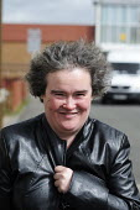 Susan Boyle in Blackburn, Scotland. - Gerry McCann - 22-04-2009