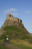 Lindisfarne Castle on England's Northumberland Coast. - Gerry McCann - 27-07-2009