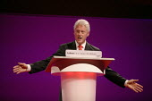 Bill Clinton speaks at the 2006 Labour Party Annual Conference, Manchester, UK. - Paul Herrmann - 27-09-2006