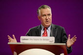 Peter Hain speaks at the 2006 Labour Party Annual Conference, Manchester, UK. - Paul Herrmann - 28-09-2006
