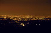 The lights of the city of Manchester at night from above - Paul Herrmann - 10-01-2003