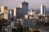 Skyline of Manchester, UK. - Paul Herrmann - 19-01-2003