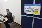 Health Minister Phil Hope MP opens St Helens Hospital, the 100th hospital scheme built under the 2000 NHS Plan. - Paul Herrmann - 22-10-2008