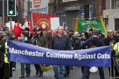 Manchester Coalition Against Cuts march, Whitworth Street West, Manchester - Paul Herrmann - 23-02-2013