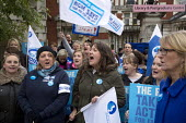 NHS workers including these from RCM on a picket as they take strike action for fair pay, Manchester Royal Infirmary. - Paul Herrmann - 13-10-2014