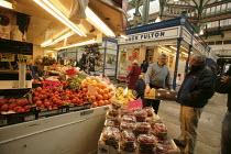 Market in Leeds, Yorkshire - Paul Herrmann - 2000s,2005,bought,buy,buyer,buyers,buying,cities,city,commodities,commodity,consumer,consumers,covered,customer,customers,EBF Economy,fruit,fruits,fulton,goods,indoor,jack,Leeds,Leisure,LFL,LIFE,Lifes