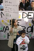 A rally in Manchester protesting at deportation of child and student asylum seekers - Paul Herrmann - 19-11-2005