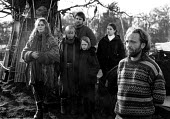 Newbury bypass anti roads protest 1997 - Howard Davies - activist,activists,against,anti,bailiff,bailiffs,building site,burn,burning,bypass,demonstration,demonstrations,destruction,destroyed,development,Eco warrior,Eco warriors,environment,environment,envir