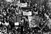 Protest against anti gay law Clause 28, London, UK 1989 - Howard Davies - protests,uk,britain,demonstrations,gay,rights,protest,demonstration,LGBT,1989,1980s