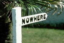 A sign to Nowhere - Paul Herrmann - 06-10-2002