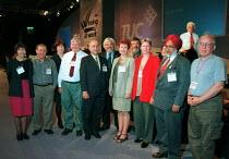 Natfhe delegation TUC Congress 2000. - John Harris - 13-09-2000