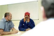 Works convener and management meeting. British Bakeries, Birmingham - John Harris - 27-08-2002