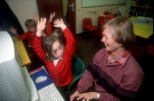 Grandmother and classroom Assistant, Squirrel Hayes First School, Biddulph Staffordshire - John Harris - 18-11-2002