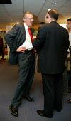 Hilary Benn MP being interviewed by a radio journalist, Labour Party Conference 2004 - John Harris - 30-09-2004