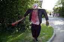 Scarecrow competition, Binton village, Warwickshire - John Harris - 05-09-2004