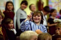 Nativity play, primary school. Joesph. - John Harris - 2000s,2005,boy,boys,child,CHILDHOOD,children,cute,drama,DRAMATIC,edu education,emilio,junior,juvenile,juveniles,kid,kids,male,people,play,PLAYING,pupil,pupils,rlb religion & belief,school,schoolchild,
