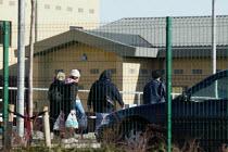 Relatives visiting Harmondsworth Immigration Removal Centre - John Harris - ,2000s,2006,Asylum Seeker,Asylum Seeker,BME Black minority ethnic,center,centre,cities,city,CLJ,deportation,deportations,deporting,detained,detainee,detainees,detention,Diaspora,displaced,foreign,fore