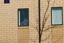 Detainee at Harmondsworth Immigration Removal Centre - John Harris - 2000s,2006,Asylum Seeker,Asylum Seeker,BAME,BAMEs,Black,BME,bmes,center,centre,cities,city,CLJ,deportation,deportations,deporting,detained,detainee,detainees,detention,Diaspora,displaced,diversity,eth