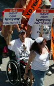 GMB remploy, The MARTYRS of TOLPUDDLE Festival, Dorset - John Harris - 2000s,2006,activist,activists,bound,CAMPAIGN,campaigner,campaigners,CAMPAIGNING,CAMPAIGNS,DEMONSTRATING,demonstration,DEMONSTRATIONS,disabilities,disability,disable,disabled,disablement,Festival,FESTI