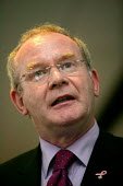 Martin McGuinness, MP Sinn Fein. The Current State of the Peace Process, CWU fringe, TUC Congress 2006 - John Harris - 12-09-2006