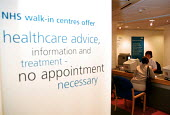 NHS walk-in centre in Boots Birmingham, which offers assessment by an experienced NHS nurse who can give healthcare advice, information and treatment. No appointment is necessary. - John Harris - ,2000,2000s,advice,ADVISE,appointment,ASSESSING,assessment,Birmingham,Boots,care,centre,cities,city,clinic,clinics,female,hea,HEA health,health,HEALTH SERVICES,healthcare,in,job,jobs,lab lbr work,Nati