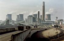 Gas and coal fired power station, Ratcliffe on Soar, Nottingham - John Harris - 04-03-2003
