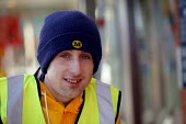 Young worker at Morrisons Supermarket. - John Harris - 09-01-2004