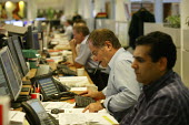 E.On UK trading floor. Buying and selling gas futures. Coventry - John Harris - 09-10-2006