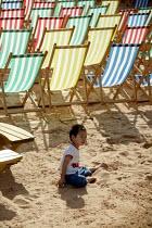Artificial Beach, Chamberlain Square Birmingham. - John Harris - 15-07-2007