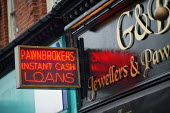Pawnbrokers Blackpool - John Harris - 2000s,2007,advance,bank,banking,banks,borrow,borrower,borrowers,borrowing,capitalism,capitalist,cash,communicating,communication,companies,company,cost,cost of living,credit,Credit Crunch,day,debt,deb