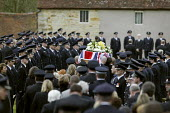 The Funeral of John Averis who died in the packhouse fire at Atherstone on Stour. Tredington - John Harris - 30-11-2007