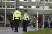 Police Community Support Officers, Coventry city centre. - John Harris - 25-01-2008