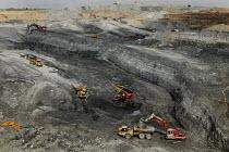 UK Coal opencast mine, Cutacre, Bolton. - John Harris - 16-04-2008