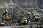 UK Coal opencast mine, Cutacre, Bolton. - John Harris - 16-04-2008