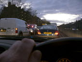 Driving in congested traffic on the way out of London - John Harris - 21-10-2008