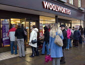 Woolworths closing down sale. Stratford on Avon. - John Harris - 2000s,2008,50,50%,bargain,bargins,bought,buy,buyer,buyers,buying,close,CLOSED,closing,closure,closures,commodities,commodity,consumer,consumers,Credit Crunch,customer,customers,DOWNTURN,EBF Economy,FE