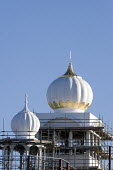 Gurdwara Sahib Temple under construction, Leamington Spa. - John Harris - &,2000s,2009,ACE,architecture,ASIAN,ASIANS,belief,BLACK,building,building site,buildings,Construction Industry,conviction,culture,EBF,Economic,Economy,faith,GOD,Gurdwara,LIFE,PEOPLE,religion,religions