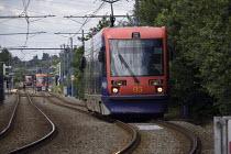 LRTA Midland Metro Tramway Wednesbury town centre. - John Harris - 18-07-2009