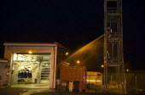 Retained firefighters, Wellsbourne Fire station, Warwickshire - John Harris - 15-09-2009