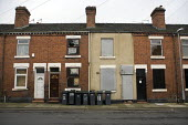 Boarded up houses, The Potteries, Stoke on Trent - John Harris - 2010,2010s,accommodation,Boarded Up,cities,city,council estate,council services,council estate,council services,derelict,DERELICTION,developer,developers,development,disused,EBF,Economic,Economy,empty