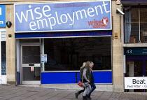 Closed employment agency, Wise Employment. Bristol. - John Harris - 30-11-2011