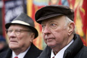 Arthur Scargill and Ken Capstick, former Yorkshire NUM leader. Commemoration of the events of forty years ago when the trade union movement won a victory in what is now known as The Battle of Saltley... - John Harris - 10-02-2012